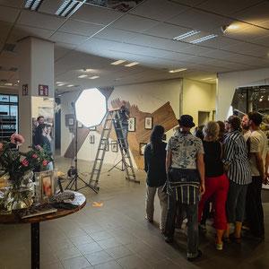The Hidden Art Project - Shooting mit den Künstlern