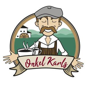 Onkel Karls, Logo für ein Restaurant/Bistro in Staufen im Breisgau.