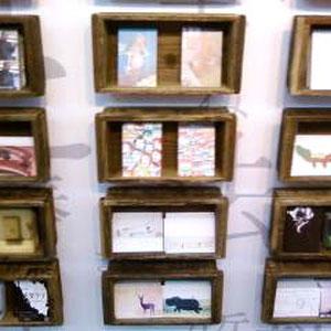 精興社×CommandN プロジェクト ポストカード展