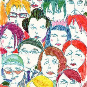 東京テーマ 「都会にいるたくさんの人ヒトひと・・・」