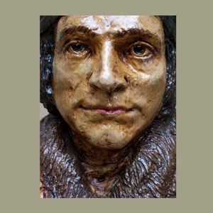 Detail, Small Bust, St. Thomas More