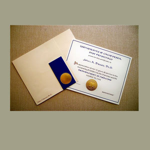 Handmade paper presentation folder