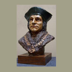 Small Bust, St. Thomas More