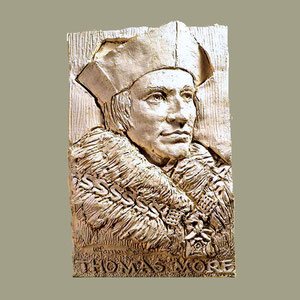 Bas-relief, St.Thomas More
