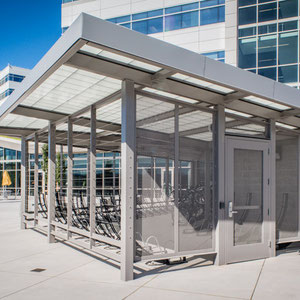 Need to develop a bike parking facility or get bike racks into an awkward space? Our architecture team is here to help.