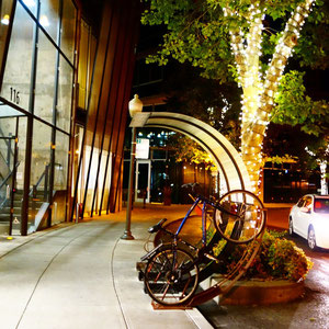 bike parking + public art = bike arc