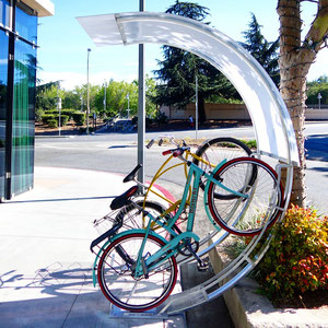 Shield your bicycle from sun, rain and falling debris with our sophisticated Half Arc design.