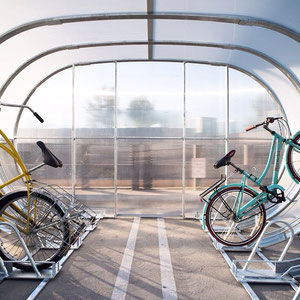 Did you know a bike shed could be this groovy?