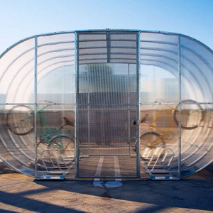 Our modular Tube Arc design provides additional security options and greater protection from bad weather.