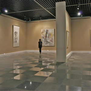 2011 - Painting : Alive!  Sichuan Museum, Chengdu, China.