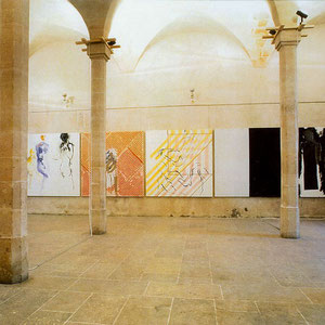 1986 - Hôtel de saint Aignan, Paris, France.