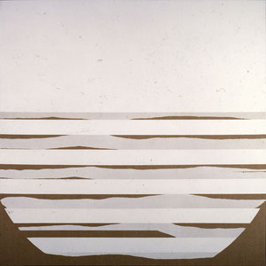 无题,1984,涂料及丙烯颜料,于画布,180 x 180 cm,私人收藏,法国