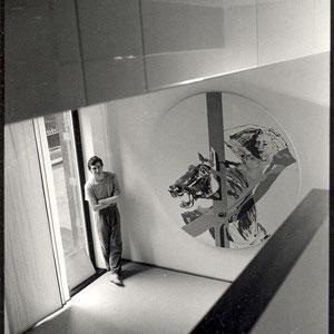 """1987 - """"Designer Saturday"""", Unifor Space, Paris, France."""