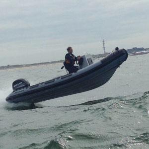schlauchboot kiel charter