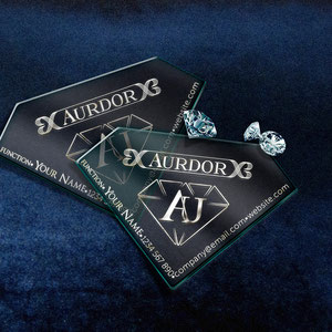 Deluxe Business Card for a jewelry business