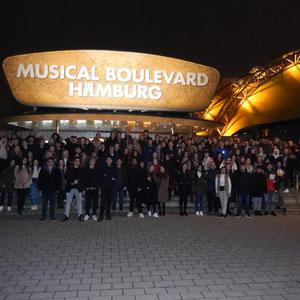 """2020 Besuch des Musicals """"Der König der Löwen"""" in Hamburg"""