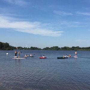 2020 Ausflug der 10a zum Einfelder See