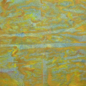 Journal 5, 1985, acrylique sur papier journal, 62 x 47 cm