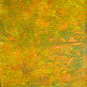Journal 3, 1985, acrylique sur papier journal, 47 x 47 cm