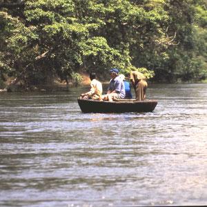 Tellerboot aus Buffel-Leder