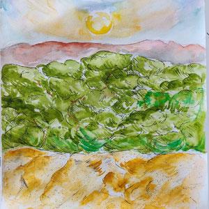 Ma dune du Pyla - Oeuvre originale