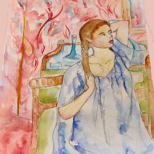 D'après Mary Cassatt