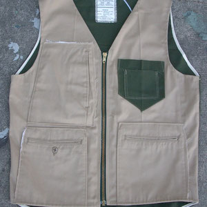 TWO TONE VEST / NOW AVAILABLE AT BEAMS