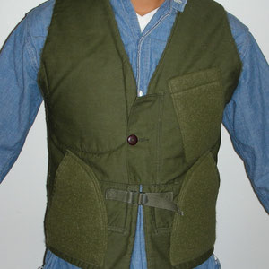 FLEECE LINE VEST / NOW AVAILABLE AT BEAMS & MAC