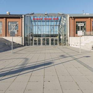 Rheine, Triebwagenhalle