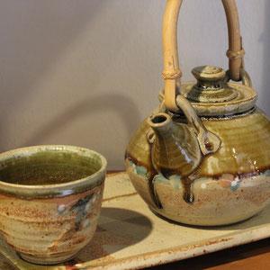 teiera per 3 oppure 6 tazze colore verde