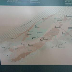 Urweltmuseum Geoskop - Karte - Urmeer