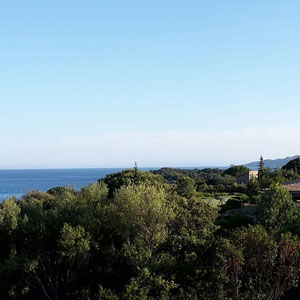 Blick von der Terrasse des Restaurants Costa Marina