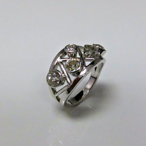 BA 3 - After - The diamonds are in a new updated 14K white gold mounting.