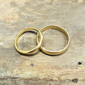 BA 18 - Before.  Their wedding bands.
