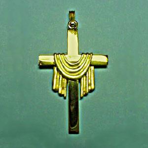 P 36 - 14K yellow gold pendant.