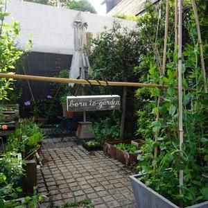 I am born to garden! yay!