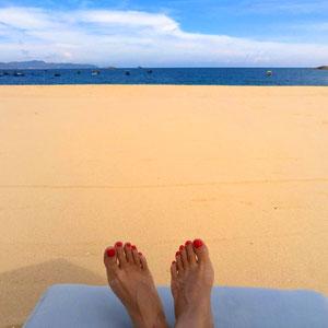 Geheimtipp - Sandstrand in der Provinz Quy Nhon – wenn du ruhige & breite Strände für den Badeurlaub in Vietnam suchst