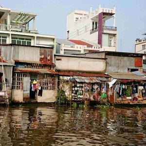 Das Leben am Fluss Mekong