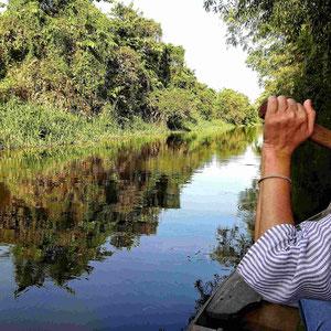 Per Muskelkraft & Kanu aktiv das Mekong-Delta erkunden.