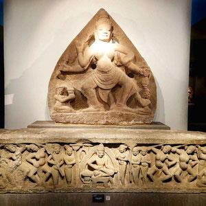Wundervolle Zeugnisse der Cham-Kultur können Museum für Cham-Skulpturen bewundert werden