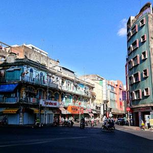 In Saigon kann spannende Architektur bewundert werden.