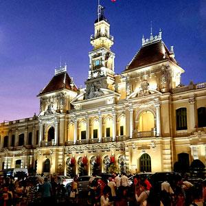 Das Rathaus von Ho Chi Minh City.