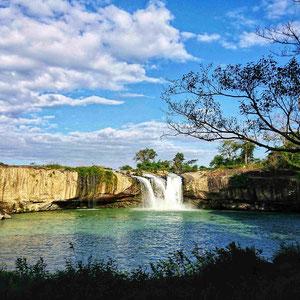 Der - Đray Nur – Wasserfall, Provinz Dak Lak,  ist eine wahre Schönheit unter den Wasserfällen Vietnams.