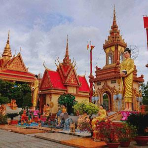 Buddhistische Tempelanlage