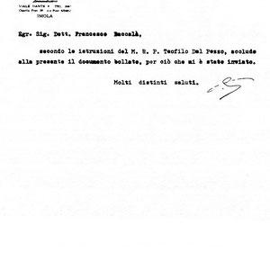 Assidui di Giuffrè erano diversi alti rappresentanti dell'Ordine cappuccino, come il padre Teofilo dal Pozzo della Chiana, già Provinciale a Foggia dal 1953 al 1956, nel 1958 Provinciale dei Cappuccini toscani