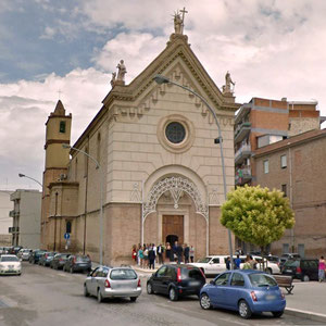 Chiesa di S. Maria della Spica, ricostruita in stile neoclassico nel 1921