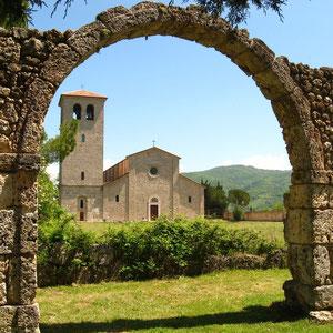 Resti dell'Abbazia benedettina di S. Vincenzo al Volturno
