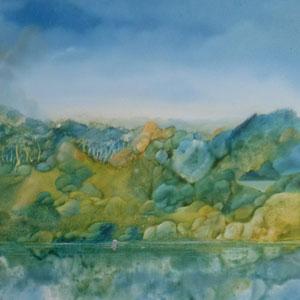 dans l'étang-70x60-1978
