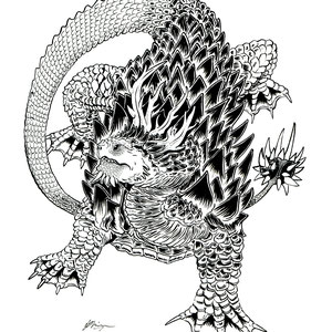 Platecraun Dragon Personal Artwork