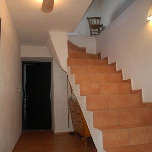 Treppe von Wohnraum ins Erdgeschoß